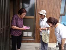 ひとり暮らし高齢者等友愛訪問
