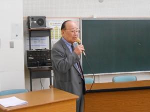 黒川会長あいさつ